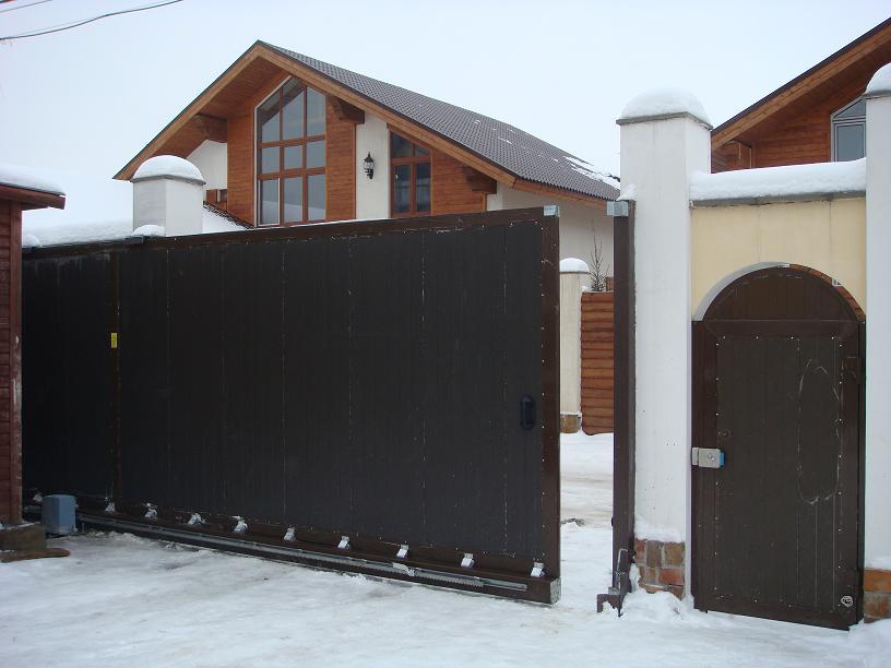 ремонт откатных ворот